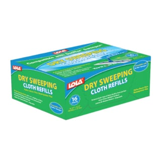 Lola Dry Sweeping Cloth Refills (192 Cloths)