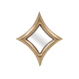 "Madlyn Small Diamond Wall Mirror (8.75""h x 7.5""w x 1"")"