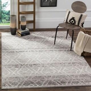 Safavieh Adirondack Silver/ Ivory Rug (5' 1 x 7' 6)