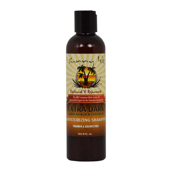 Sunny Isle Jamaican Black Castor Oil Extra Dark Moisturizing 8-ounce Shampoo