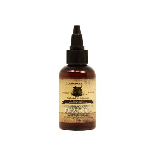 Sunny Isle 2-ounce Jamaican Black Castor Oil Beard Oil