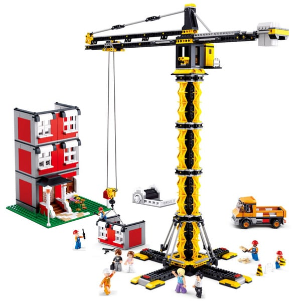 Sluban Interlocking Bricks Tower Crane
