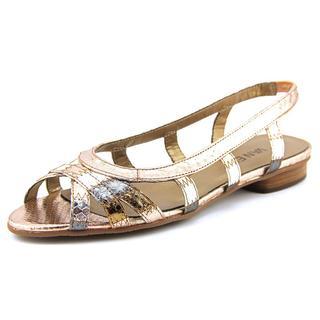 Vaneli Women's 'Ashley' Leather Sandals
