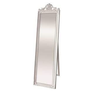 Selections by Chaumont Kensington White Cheval Mirror