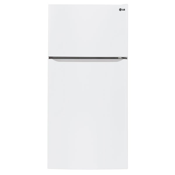 "LG LTCS24223W 24-cubic Foot Largest Capacity 33"""" Wide Top-Mount in White"