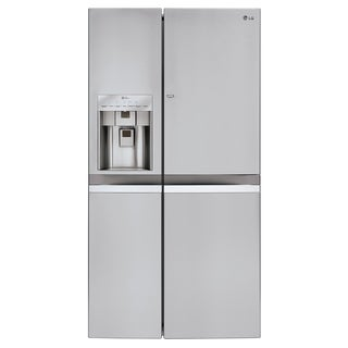LG LSC22991ST Large Capacity Counter-Depth 22-cubic Foot Side-by-Side Refrigerator with Door-in-Door in Stainless Steel