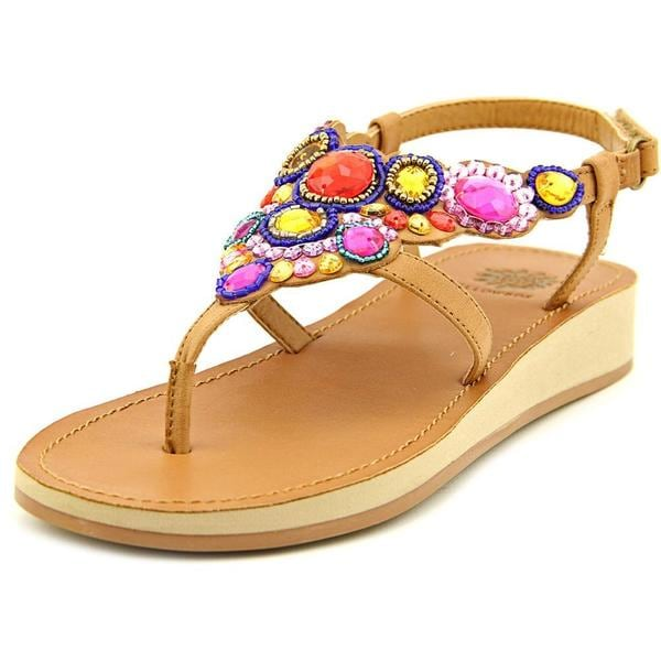 Yellow Box Women's 'Grapefruit' Synthetic Sandals