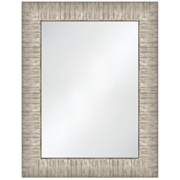 Selections by Chaumont Waterford Gold Ribbed Texture Frame Wall Mirror