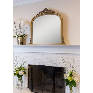 Selections by Chaumont Amarone Gold Over Mantle Mirror