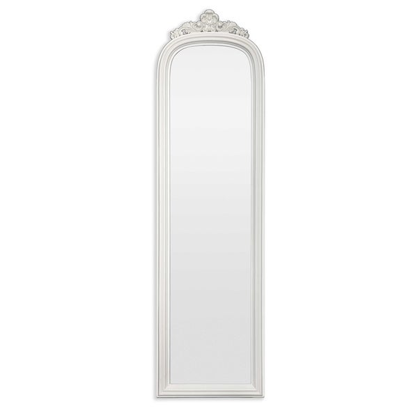 Selections by Chaumont Amarone Crowned Cream Dress Mirror