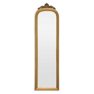 Selections by Chaumont Amarone Crowned Gold Dress Mirror