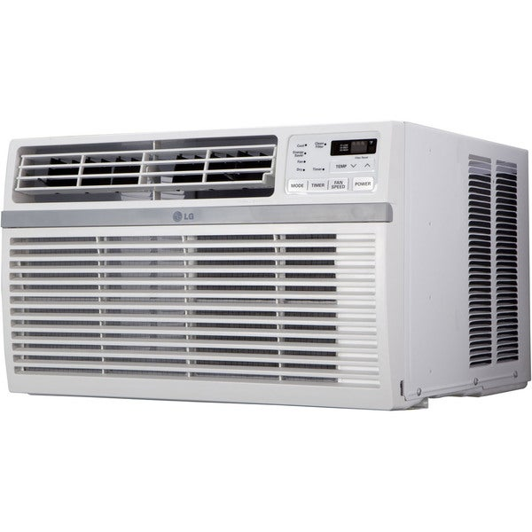 LG LW8015ER 8,000 BTU 115V Window-mounted White Air Conditioner with Remote Control 18030352
