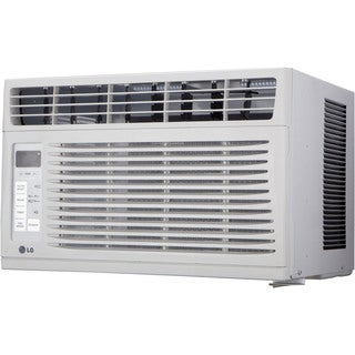 LG LW6016R 6,000 BTU 115V Window-mounted Air Conditioner with Remote Control