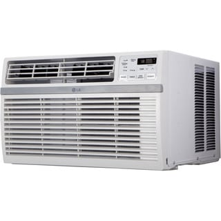 LG LW1015ER 10,000 BTU 115V Window-mounted White Air Conditioner with Remote Control