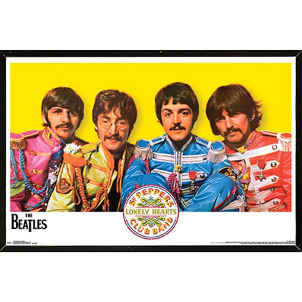The Beatles Sgt. Peppers Wall Plaque