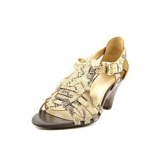 Circa Joan & David Women's 'Nizzie' Animal Print Sandals