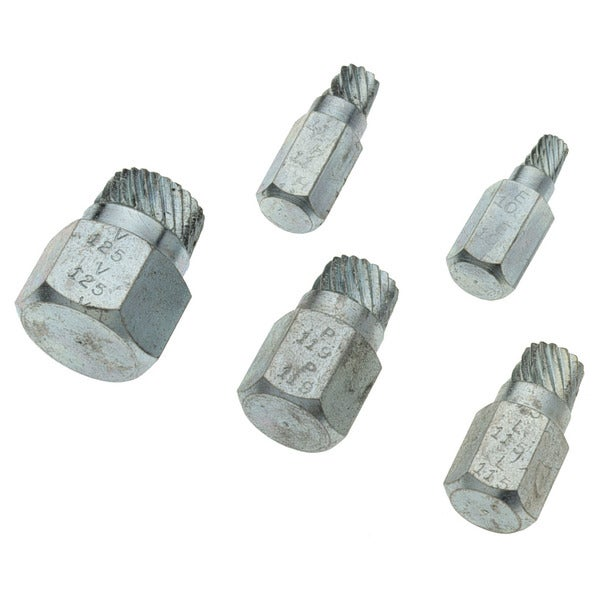 Superior Tool 05250 5 Piece Bolt Extractor Kit