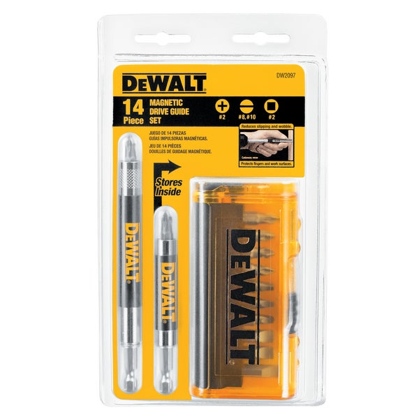 DeWalt DW2097 Drive Guide Set 14-count