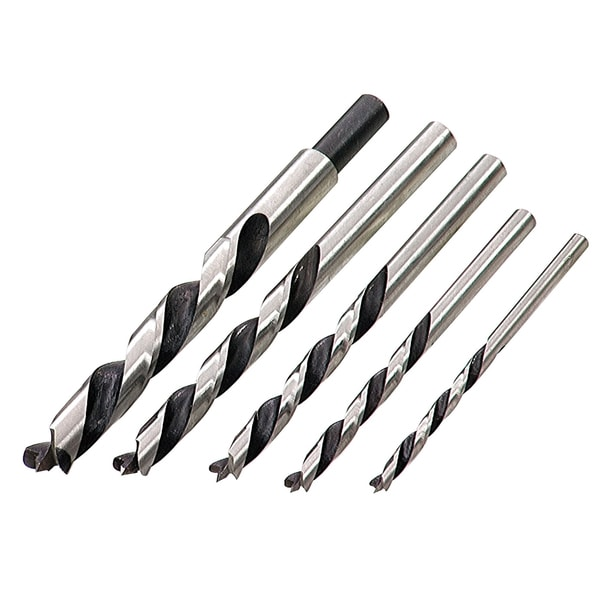 Irwin 49600 Brad Point Drill Bit Set 5-count