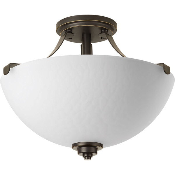Progress Lighting P2315-20 Legend 2-light Semi-flush Convertible