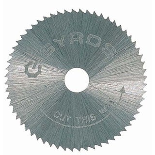 "Gyros Tools 81-10715 3/4"" Fine Tooth Gyros Steel Saw Blade"