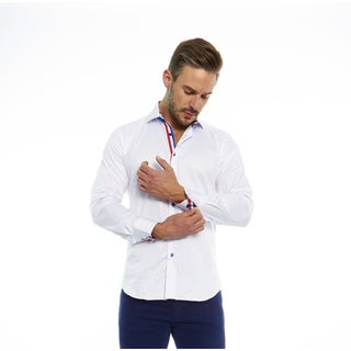 Suslo Couture Men's Romo White Button Down