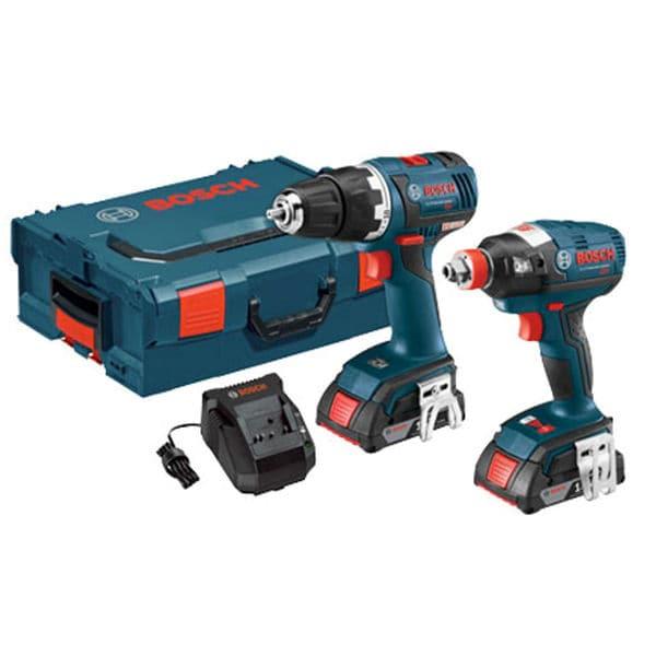 Bosch CLPK233-181L 18 Volt Brushless Drill & Driver Kit