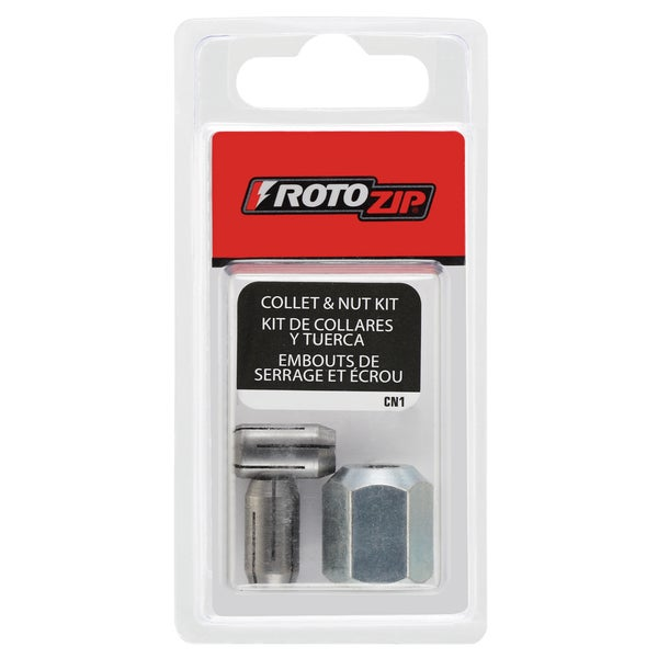 Rotozip CN1 Collet & Nut Kit
