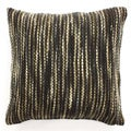 Ribbon Yarn Woven Throw Pillow