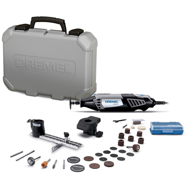 Dremel 4000-2/30 Rotary Tool Kit With 30 Accessories