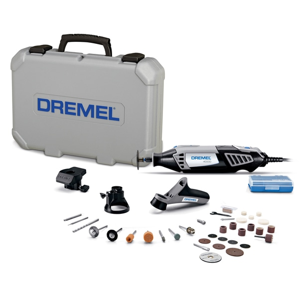 Dremel 4000-3/34 34 Piece Dremel 4000 High Performance Rotary Tool Kit