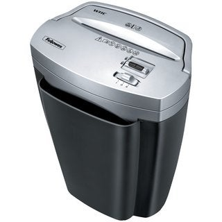 Fellowes Refurbished Powershred W-11C 11 Sheet Cross-Cut Shredder