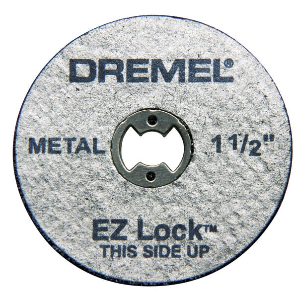 "Dremel EZ456 5-count 1-1/2"" EZ Lock Cutoff Wheels"