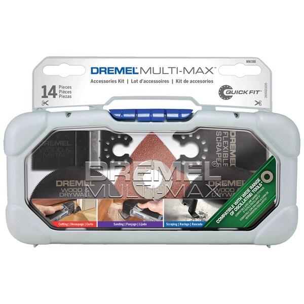 Dremel MM388 Dremel Oscillating Tool Accessory Kit 14 Piece