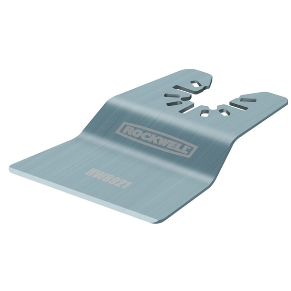 Rockwell RW8921 Sonicrafter Rigid Scraper Blade With Universal Fit System
