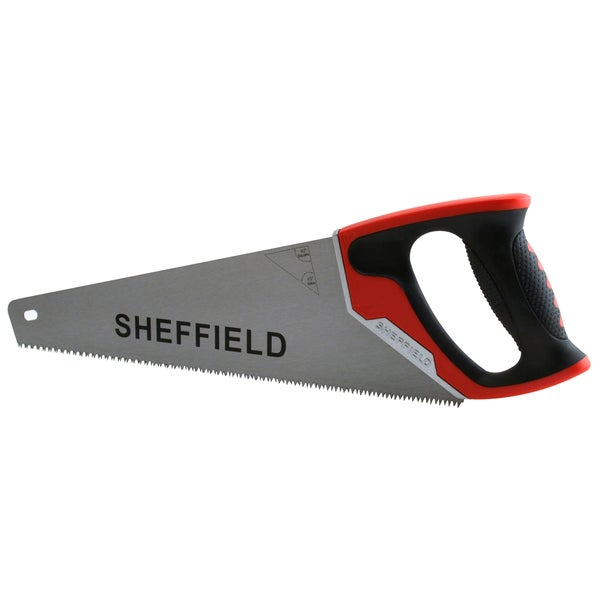 "Sheffield 58200 15"" Aggressive Tooth Handsaw"
