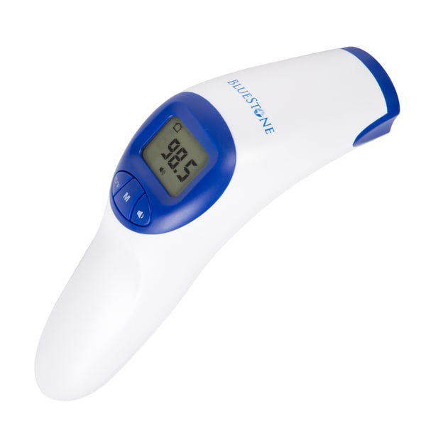 Bluestone Non-Contact Infrared Forehead Thermometer