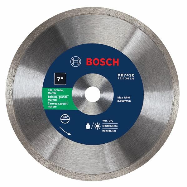 """Bosch DB743C 7"""" Premium Continuous Rim Diamond Blade"""