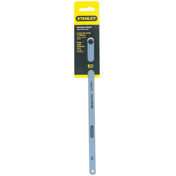 """Stanley Hand Tools 15-822A 12"""" 32 TPI High Carbon Steel Hacksaw Blade"""