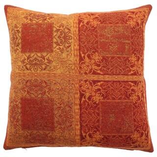Reversible Mystic Paisley Throw Pillow
