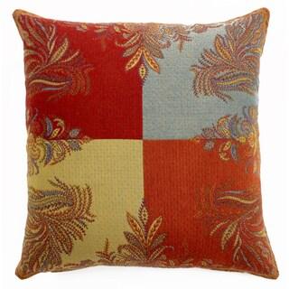 Four Seasonal Wool Throw Pillow