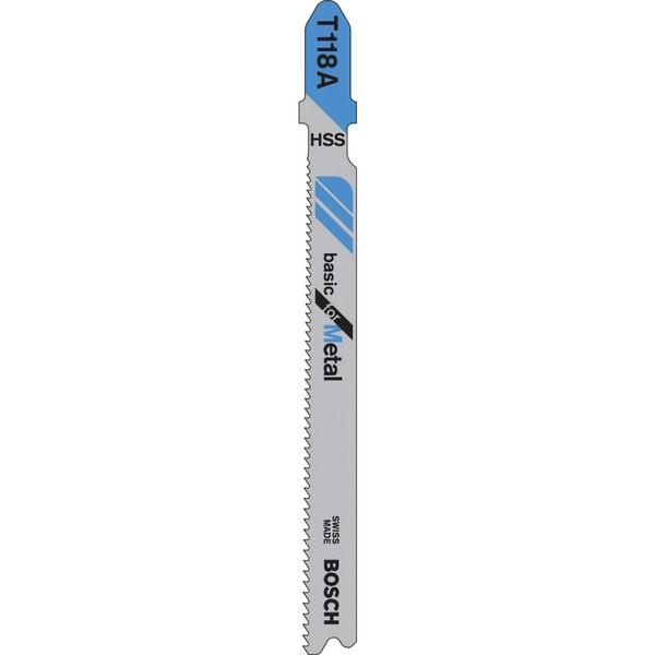 """Bosch T118A 5-count 24 Teeth 3-5/8""""Jig Saw Blades"""