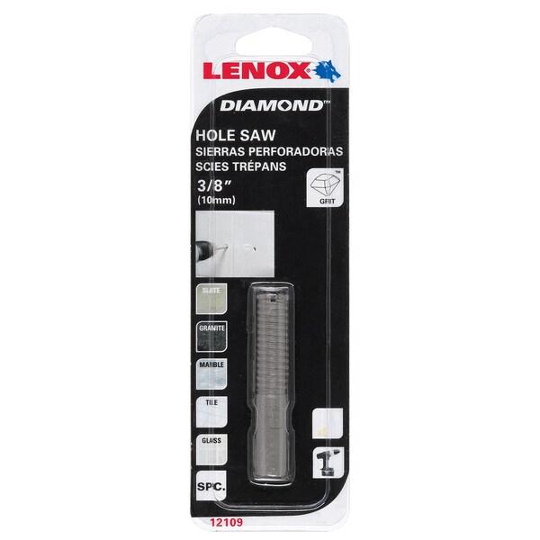 "Lenox 121096DGDS 3/8"" Diamond Holesaw"