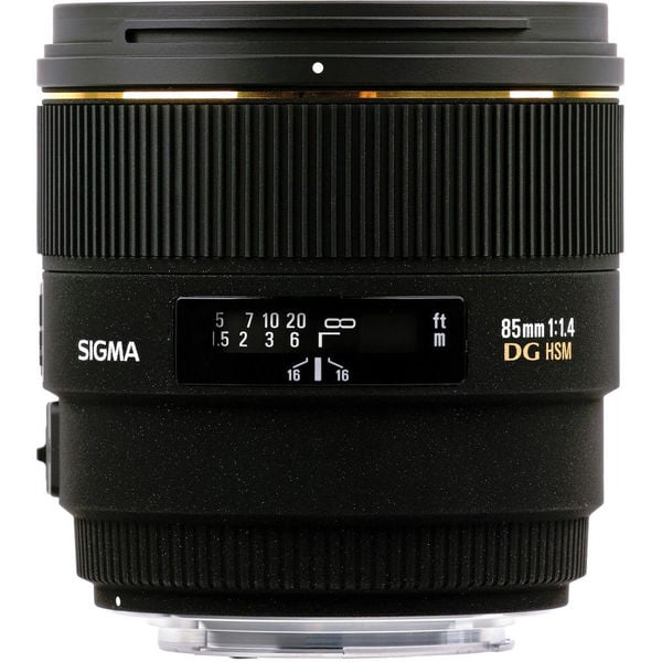 Sigma 85mm f/1.4 Lens For Nikon Lens Bundle