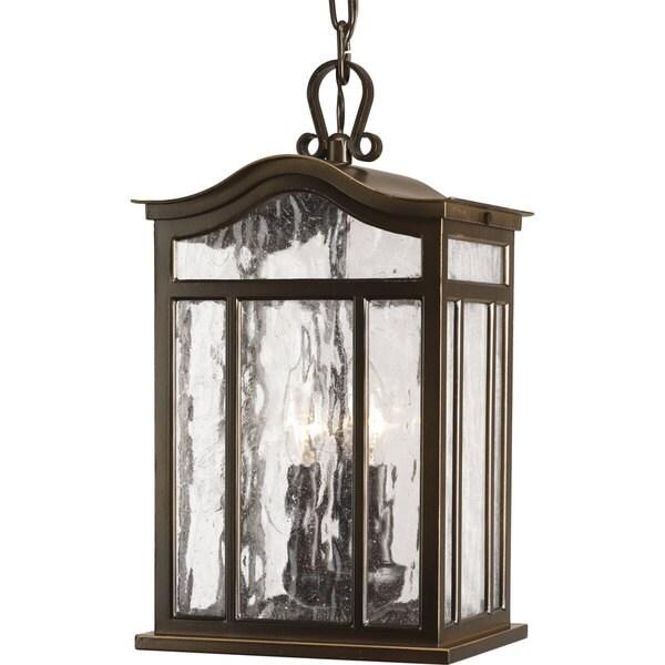 Progress Lighting P5502-108 Meadowlark 3-light Hanging Lantern 18034139