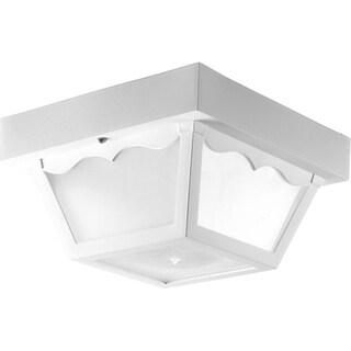 Progress Lighting P7340-30wb Non-metallic 1-light Non-metallic Close-to-ceiling