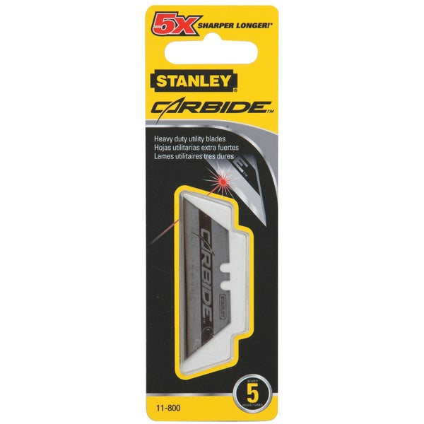 Stanley Hand Tools 11-800 5-count Carbide Utility Blades