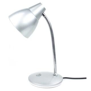"""Newhouse Lighting NHESS-SV 15"""" 8 Watt Silver LED Desk Lamp"""
