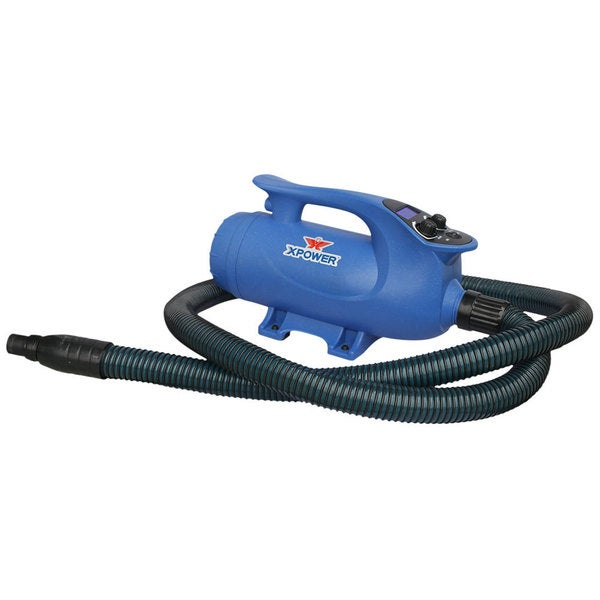 XPOWER B-8 Elite Pro Brushless Motor Pet Force Dryer with Variable Speed and Heat