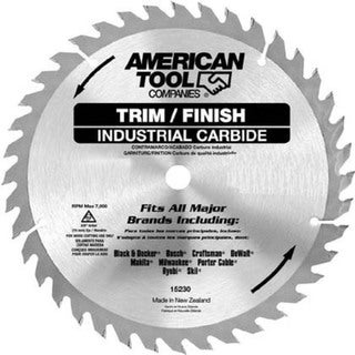 "Irwin 15370 10"" 60T Trim & Finish Circular Saw Blade"